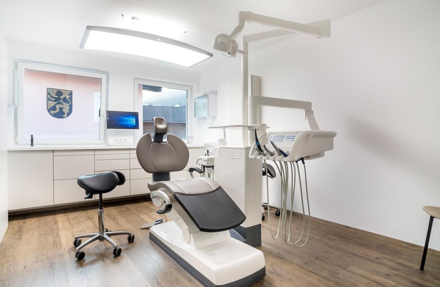 Behandlungsraum Zahnarztparxis Schäffer